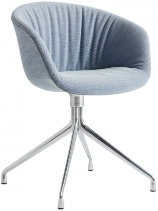 Hay About A Chair AAC21 Soft tuoli, alumiini - Steelcut Trio 716