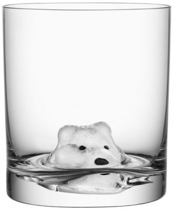 New Friends Tumbler, Ice Bear, Kosta Boda
