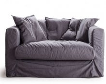 Le Grand Air Loveseat, harmaa, Decotique