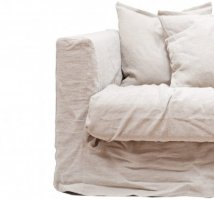 Loveseat Verhoilu, Natural Blonde, Decotique