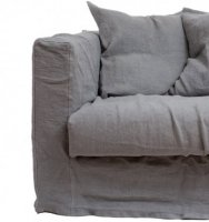 Loveseat Verhoilu, Smokey Granite, Decotique