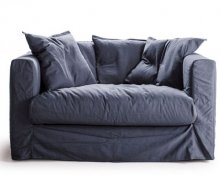 Le Grand Air Loveseat Cover, Sininen, decotique