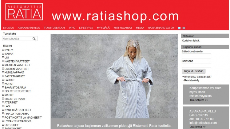 Ristomatti Ratia Shop