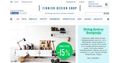 Finnish Design Shop on suomalainen designkauppa